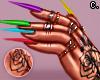 Nails Rings +Tattoos