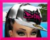 !S!BGIRL $ CAP PINK WHT