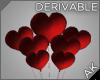 ~AK~ Heart Balloons