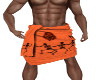 Halloween Towel Red