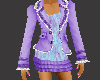 [SD] Skirt Suit Purple