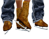 `cc`skates old leather