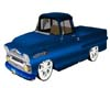 1958 Blue Chevy Apache