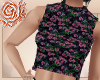 '♥P: Floral Ribbed
