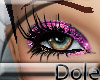 <Dole>GlitterLashesPink