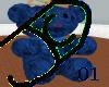 A JaCD Blue Bear Chair