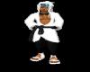 [B] white pants