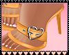 Tansy Yellow Heels