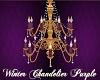 Winter Chandelier Purple