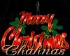 Cha`Merry Christmas Red