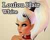 Loulou Hair White