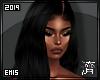 !E! Veralie Wig BLACK
