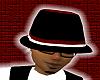 *CA* Blk n Burgandy Hat