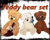 DC* Teddy Bear Set