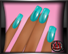 [JAX] TEAL SPORT NAILS