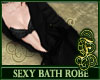 Bath Robe Black
