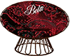 Red Beta Cuddle Chair