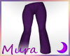 SS Jeans Flares Purple