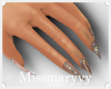 -Mm- Mini Diamonds Nails