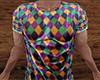 Mardi Gras Wet T-Shirt M