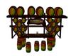 Reggae  Barrels Bar Set