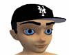 BLACK NEW YORK HAT