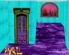 Teal n Purple Loft