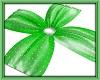 Lime Green Ceiling Drape