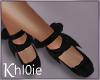 K blk  ballet shoes