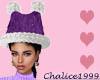 Purple KittySantaHat