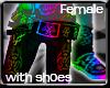 [GEL] Rainbow Punk Jeans