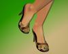 Mules Green Nails