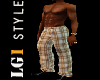 LG1 Brown Checkered Pant