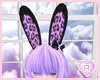 Purple Bunny Ears