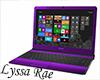Purple Sony Laptop