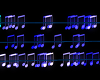 Animated Musical Notes