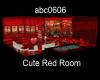 Cute Red Room