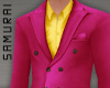 #S Solid Suit A #Fuchsia