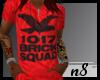 MTvT* brick squad v-neck