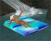 blue Romance Float