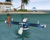 Ocean blue float spayer