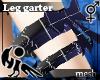 [Hie] Leg garter mesh