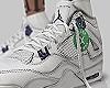 Jordan 4s Metallic Purpl