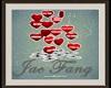 VALENTINE HEARTS W KISS