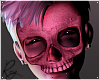 Glow Pink Skelly Mask