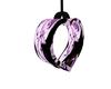 Purple Rose Heart Swing