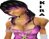 AC*Black gloss Pink Kira
