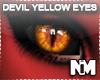 Unisex Devil Yellow Eyes