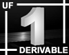 UF Derivable Digit 1