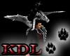 (KDL) Pet Black Dragon